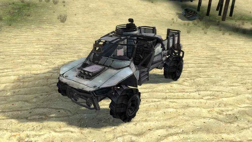 Мод Garry's Mod 13 — Авто из Borderlands 2