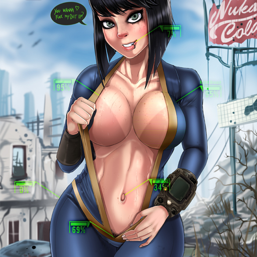 Fallout 4 — Замена оригинальных картин (Vault Meat Paintings)