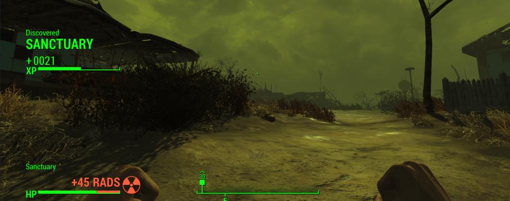 Мод Fallout 4 — Усиленный радиационный шторм (Hardcore Radiation Storms)