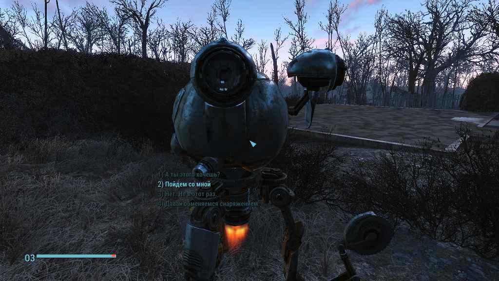 Мод Fallout 4 — Изменение стиля диалогов (NewDialog)