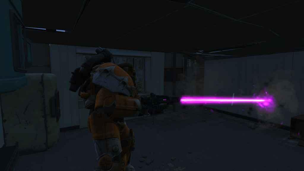 Мод Fallout 4 — Фиолетовые лазеры (Laser Projectile Retext — Purple)