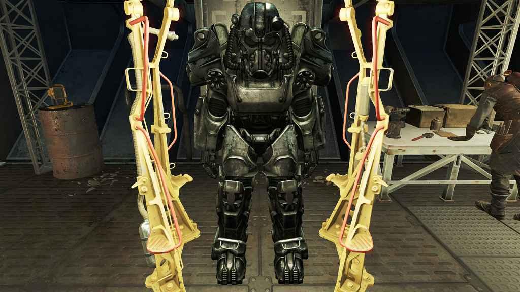 Fallout 4 — 4К Силовая броня