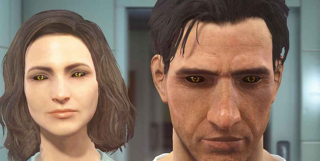 Мод Fallout 4 — Глаза Синтов (The Synth Eyes)
