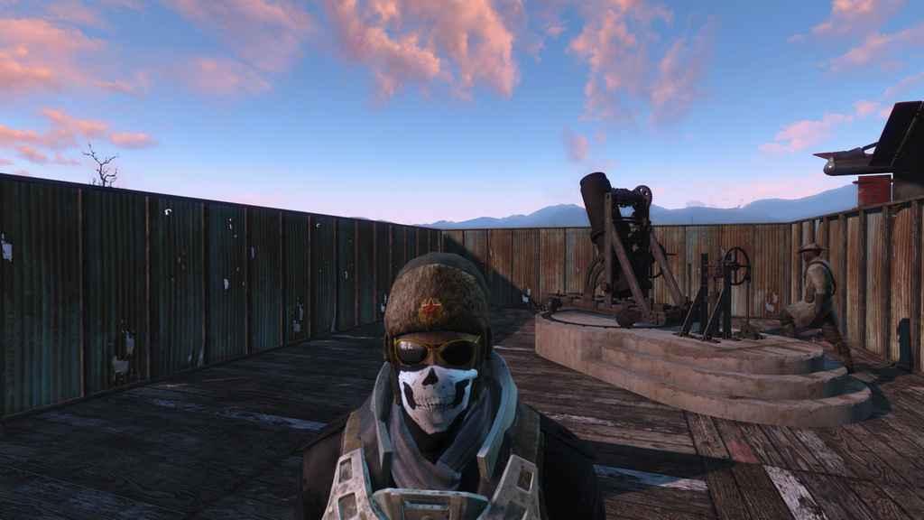 Мод Fallout 4 — Русская Ушанка