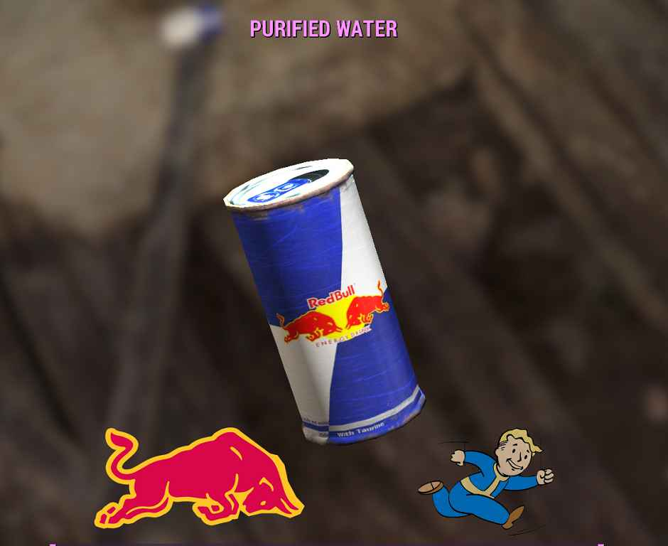 Мод Fallout 4 — Red Bull