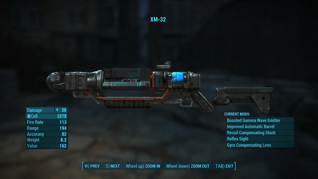 Мод Fallout 4 — Реплейсер всех лазерных пушек
