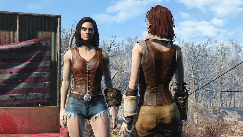 Мод Fallout 4 — Джинсовые шорты (Daisy Nukes — Cutoff Jeans — Standalone)