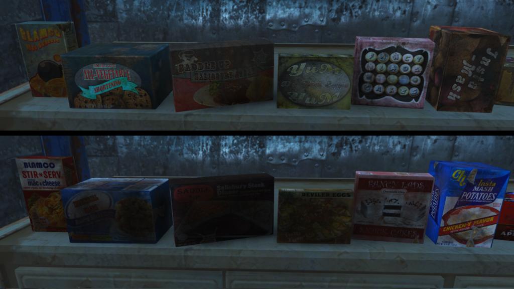 Мод Fallout 4 — Реплейсер еды