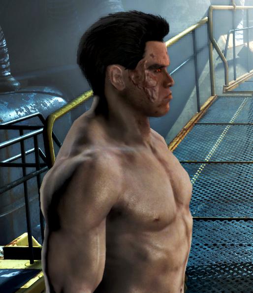 Мод Fallout 4 — Сохранение за персонажа T-800 (T-800 V3.0)