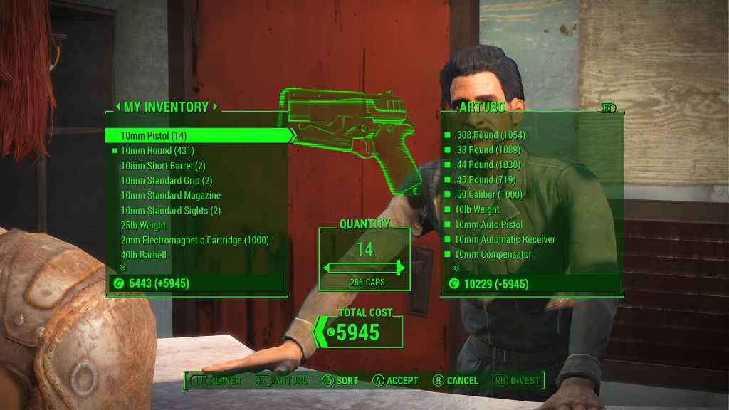 Мод Fallout 4 — Богатые Торговцы