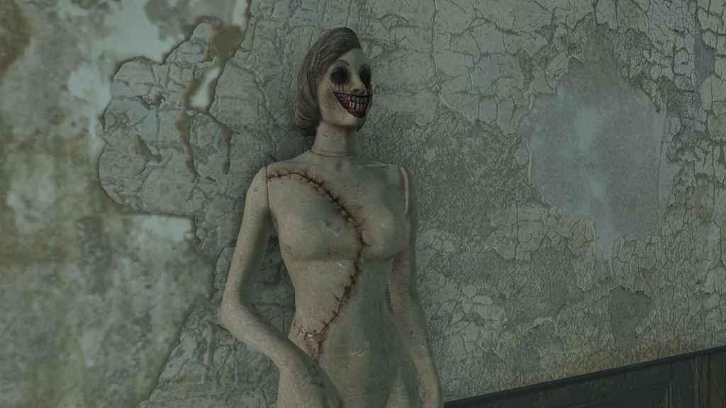 Мод Fallout 4 — Жуткие манекены (Creepy Mannequins)