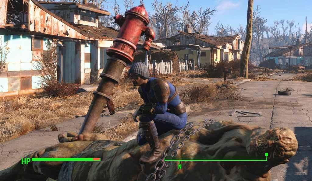 Мод Fallout 4 — Трупы с коллизией (Dead Body Collision)
