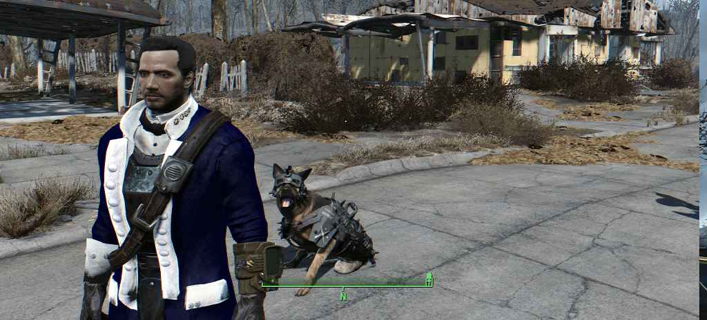 Мод Fallout 4 — HD Генерал Минитменов