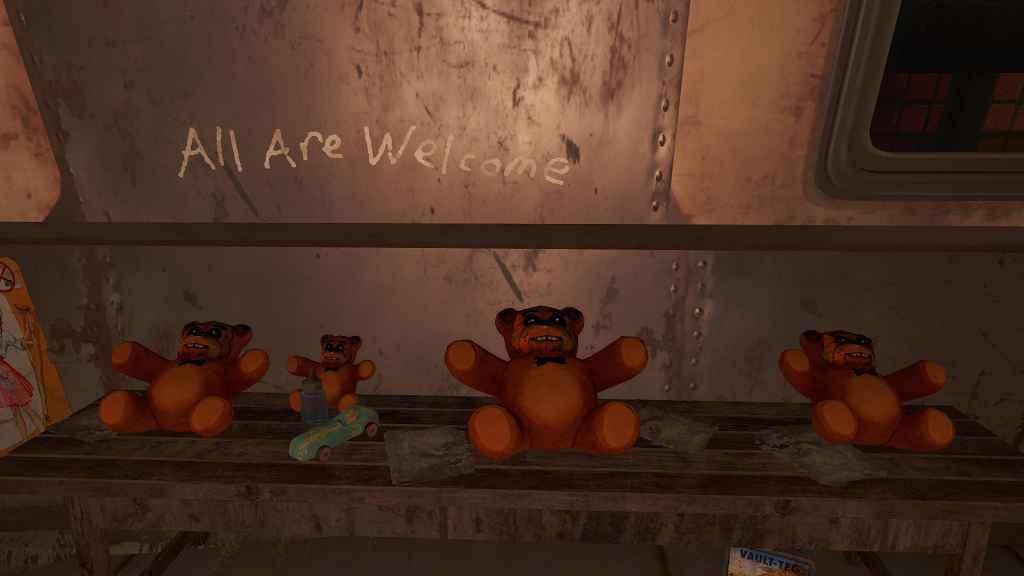Мод Fallout 4 — Мишка Фредди (Fazbear ( Teddy Bear RETEXTURE))