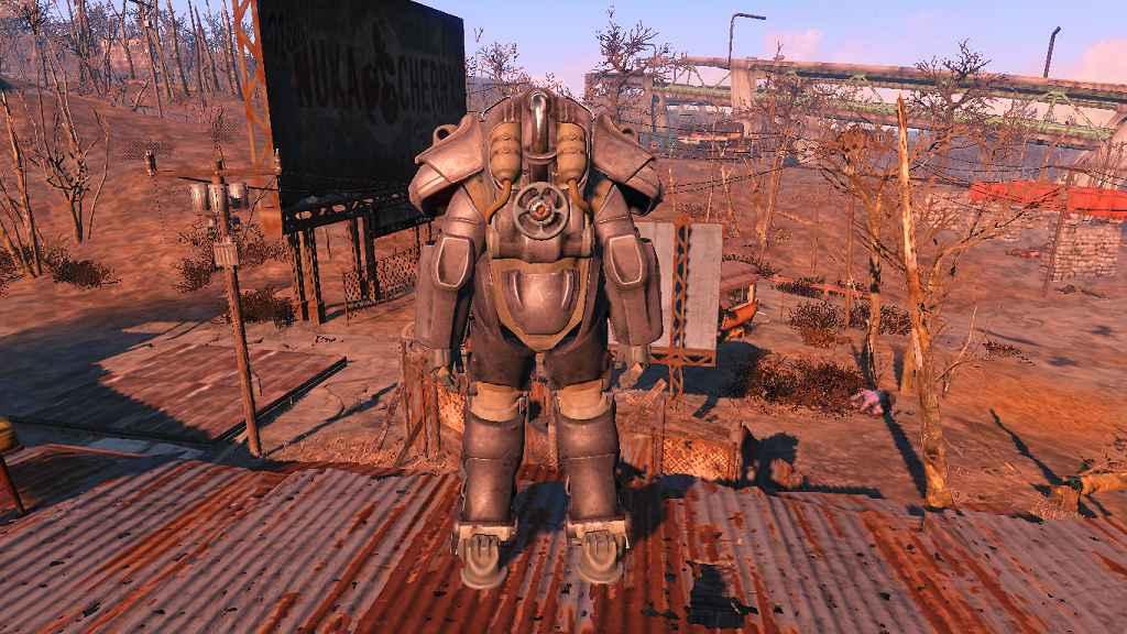 Мод Fallout 4 — Силовая Броня Львиного Прайда (Lyon's Pride T-60 Power Armor — Standalone)