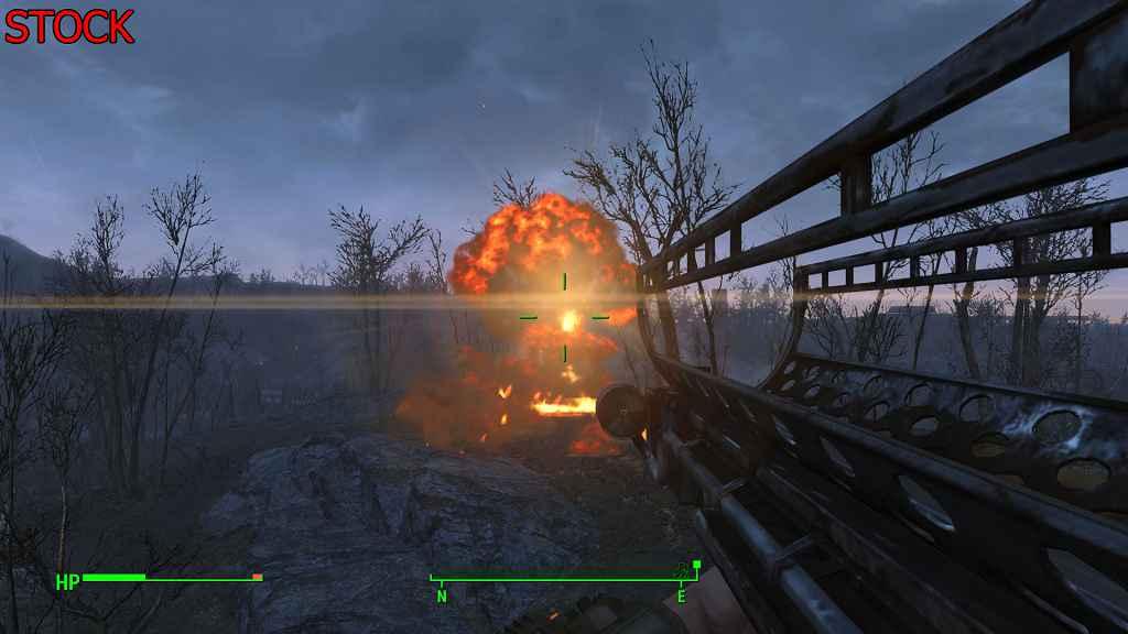 Мод Fallout 4 — Мега Взрыв! (x2)