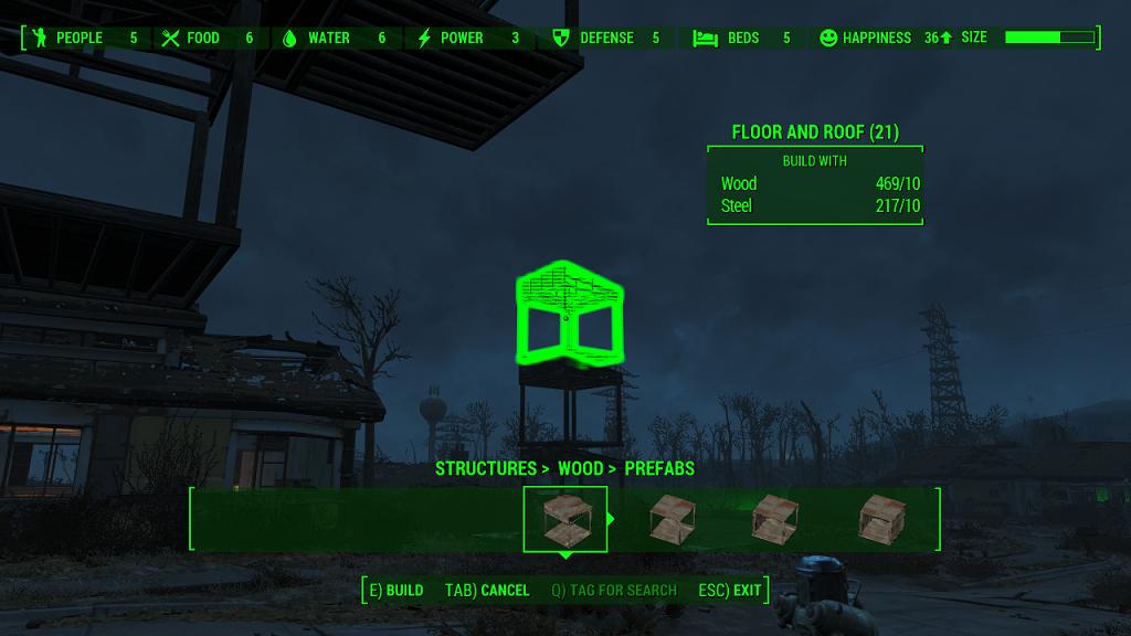 Мод Fallout 4 — Улучшение системы строительства (BetterBuild)