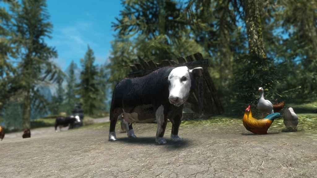 Мод Skyrim — Фермерские животные / Farm Animals