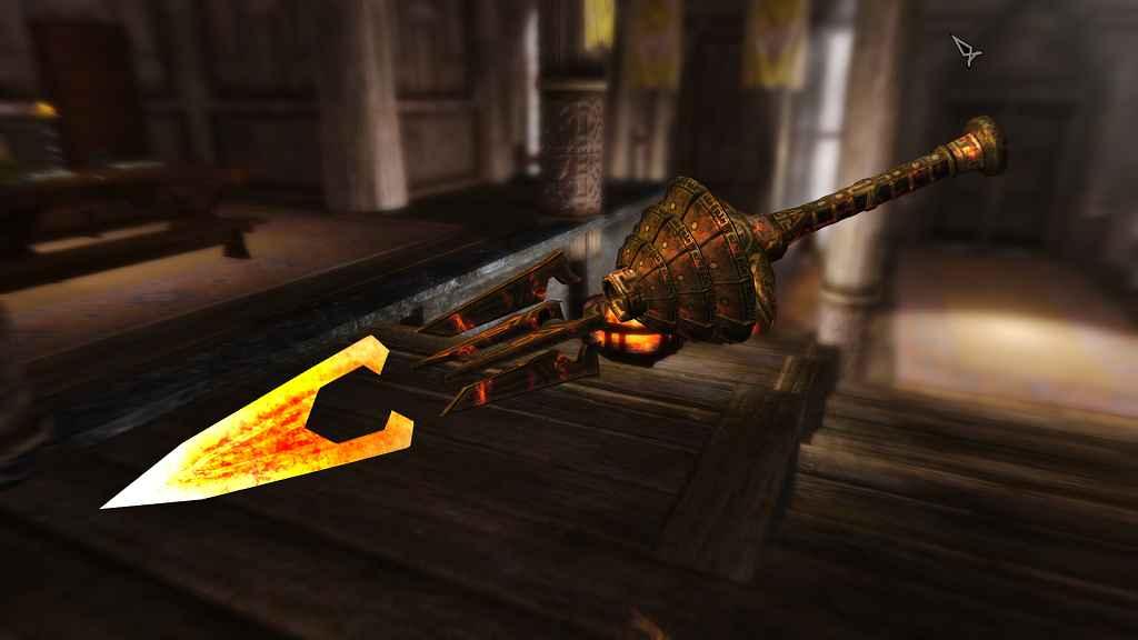 Мод Skyrim — Огненное оружие с Анимацией