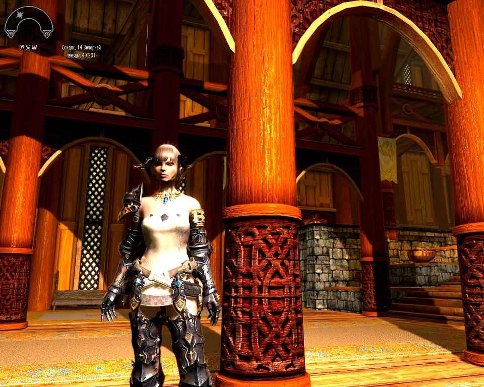 Мод Skyrim — Набор брони BLESS — реконструкция
