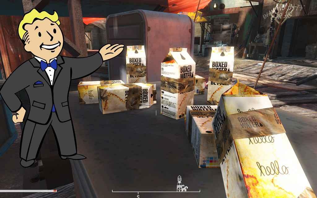 Мод Fallout 4 — Реплейсер грязной Воды