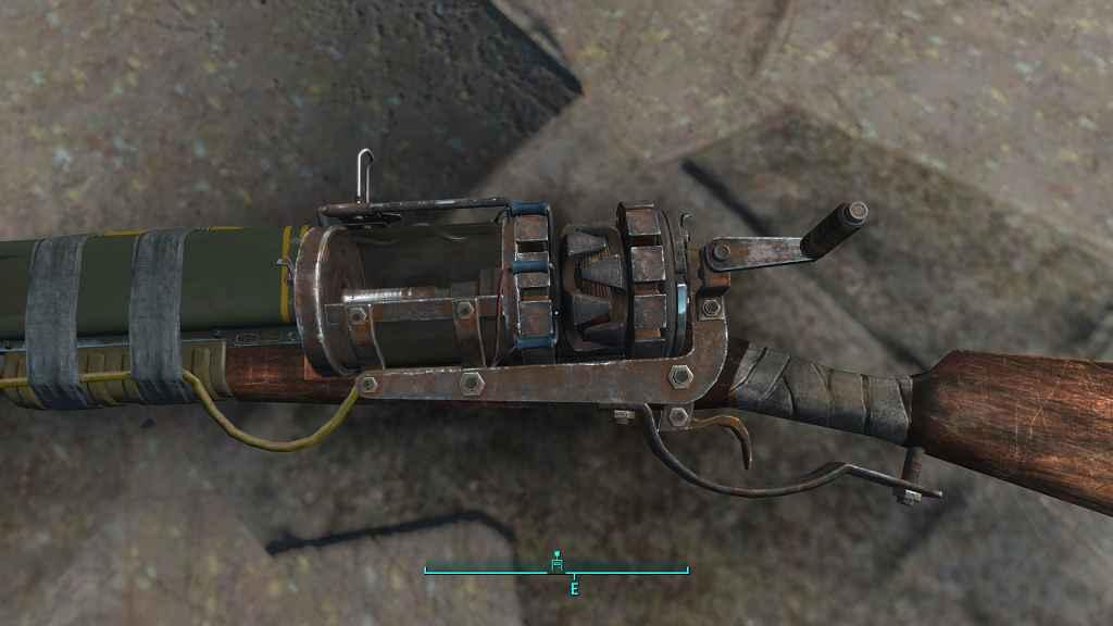 Мод Fallout 4 — Реплейсер Лазерного мушкета