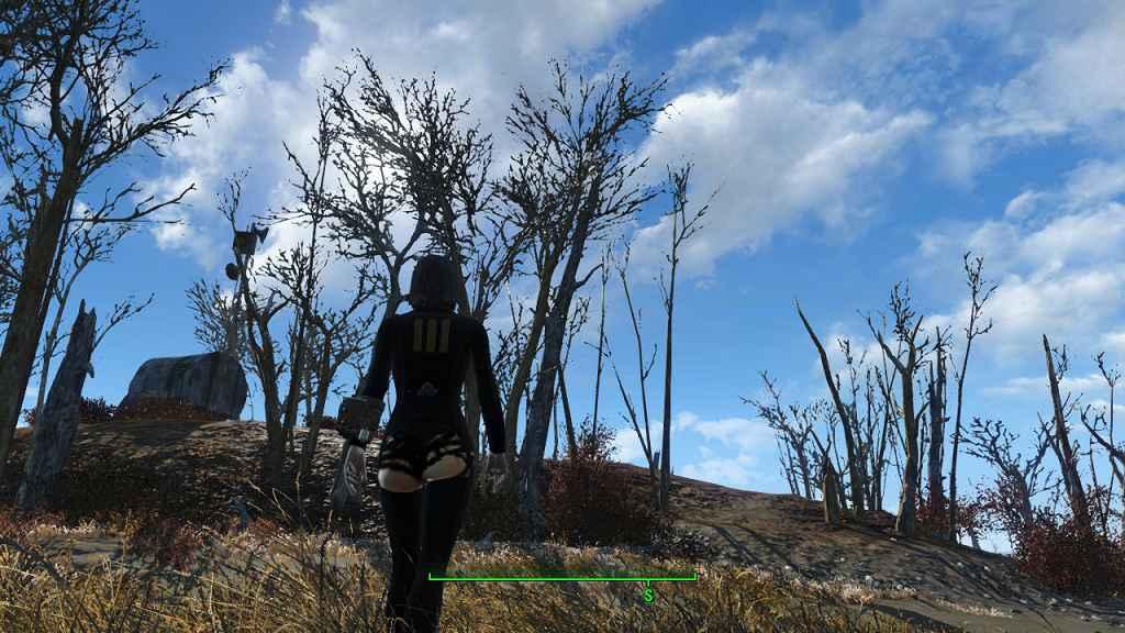 Мод Fallout 4 — Сексуальный комбинезон 111