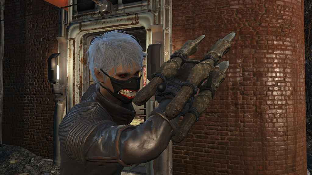 Мод Fallout 4 — Токийский Гуль (Маска хирурга)