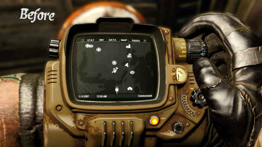 Мод Fallout 4 — Ультра текстуры для пип-боя (4к)