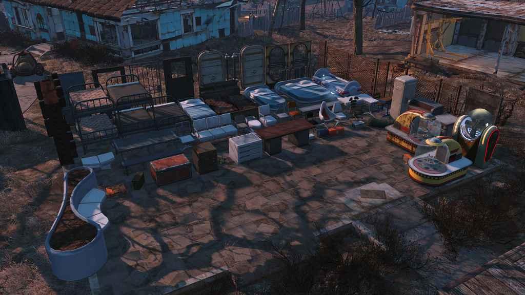 Мод Fallout 4 — Больше объектов для поселений