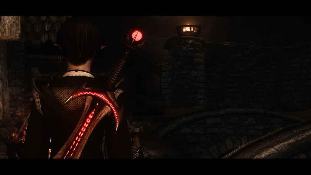 Мод Skyrim — Меч Лорда Даэдра