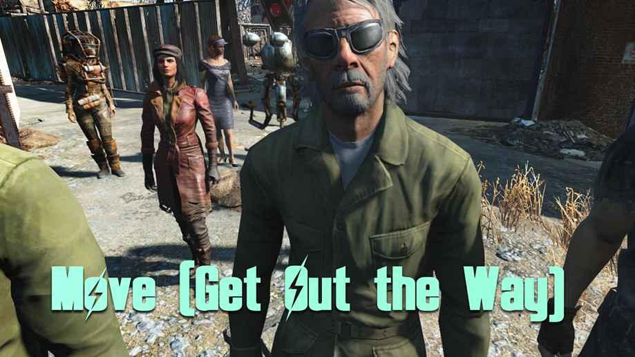Мод Fallout 4 — Боремся с блокировкой пути НПЦ и спутниками