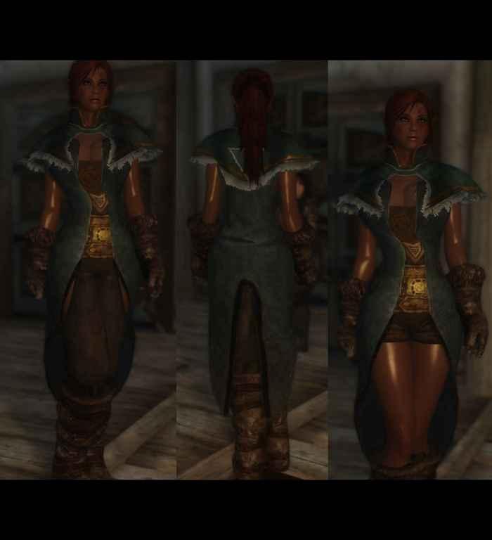 Мод Skyrim — Реплейсер оригинальной брони (CBBE)