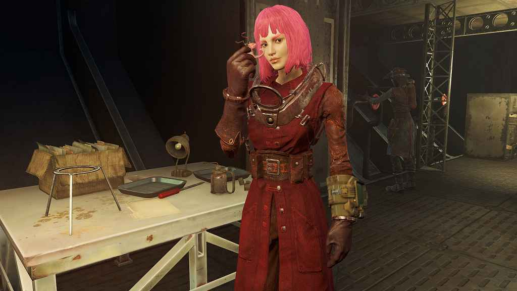 Мод Fallout 4 — Классическая красная форма писцов Братства (Classic Red Scribe Robes)