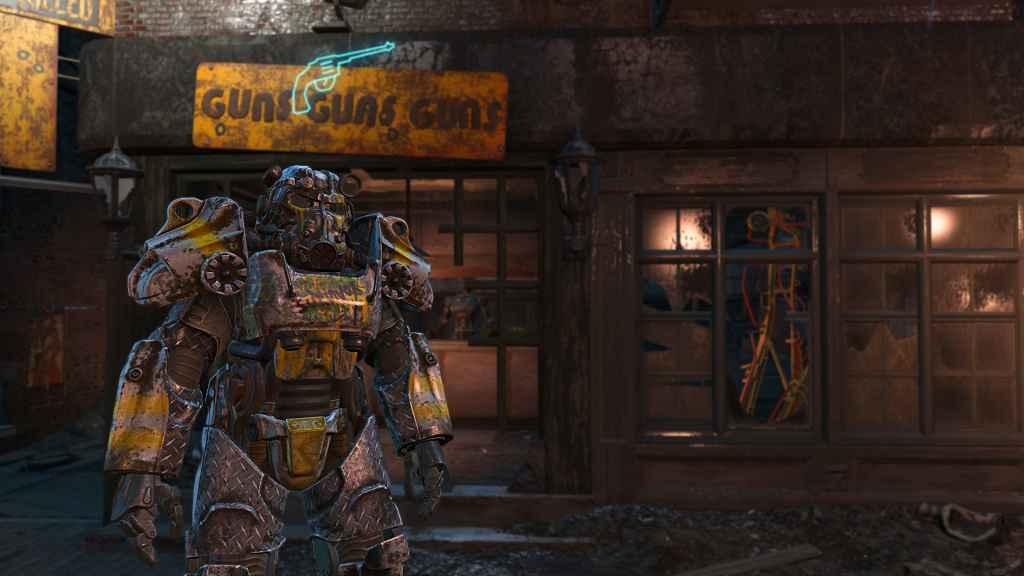 Мод Fallout 4 — Силовая Броня Содружества (The Commonwealth Survivor paint (Standalone))