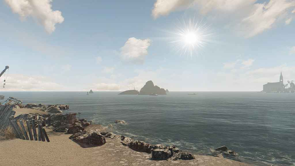 Мод Fallout 4 — Новое солнце и солнечные блики