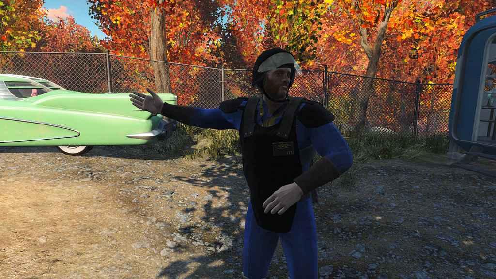Fallout 4 — Классическая форма Охраны (Classic Vault-Tec Security)