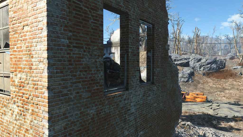 Мод Fallout 4 — Принт Черепа (Хирургическая Маска)