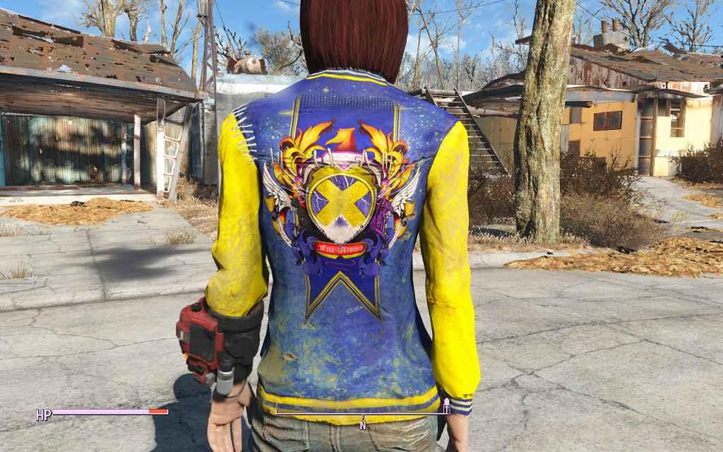 Мод Fallout 4 — Принты для оригинальной одежды (Cool Art for Vanilla Clothing)