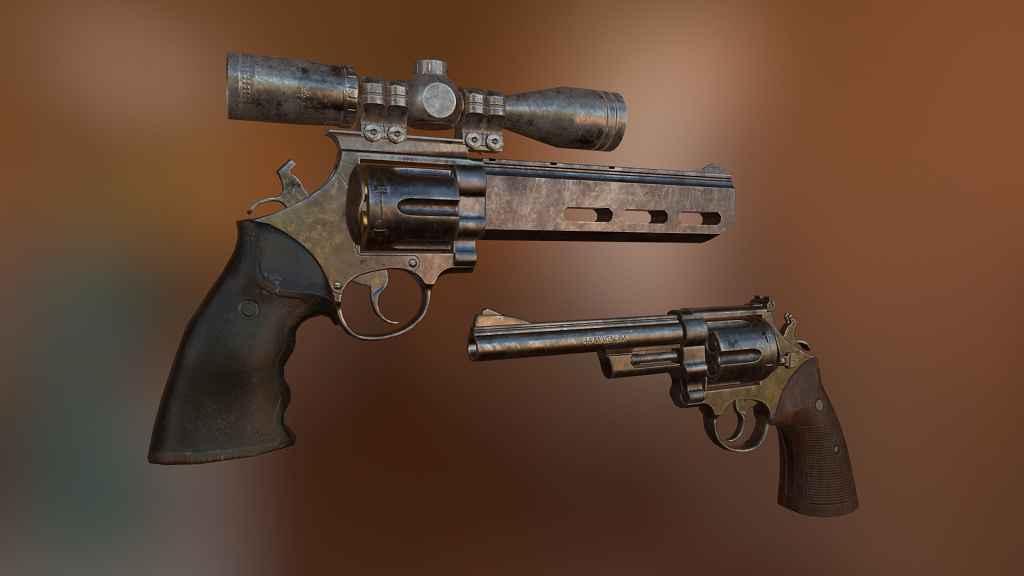 Мод Fallout 4 — Реплейсер Магнума (.44)