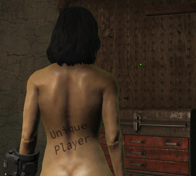 Мод Fallout 4 — Уникальное тело персонажа (Unique Player)