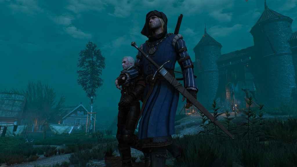 Мод The Witcher 3 — Ножны у НПС