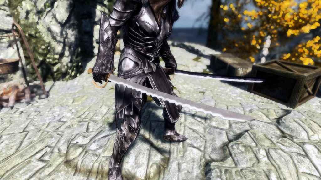 Мод Skyrim — Душитель и Кровавая Коса. Реплейсер