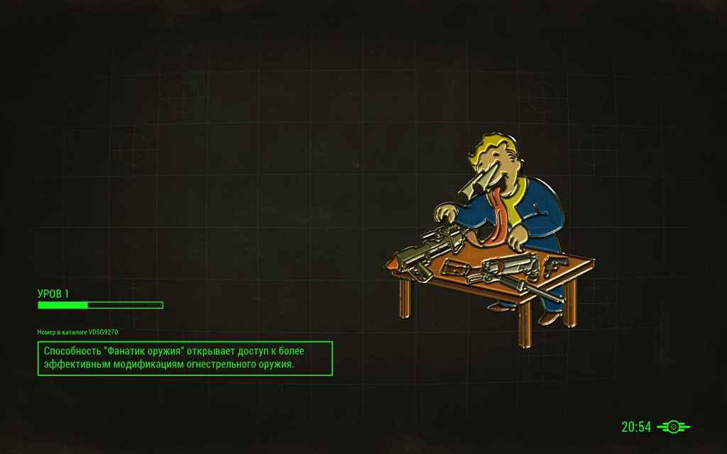 Мод Fallout 4 — Время на загрузочных экранах (Time on loading screen)