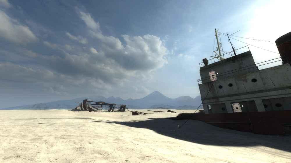 Garry's Mod 13 — Карта Gm_Desert_Carcass