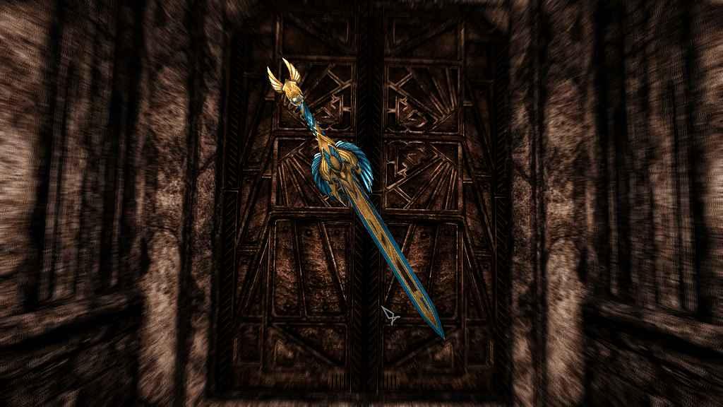 Мод Skyrim — Ласка Двайны