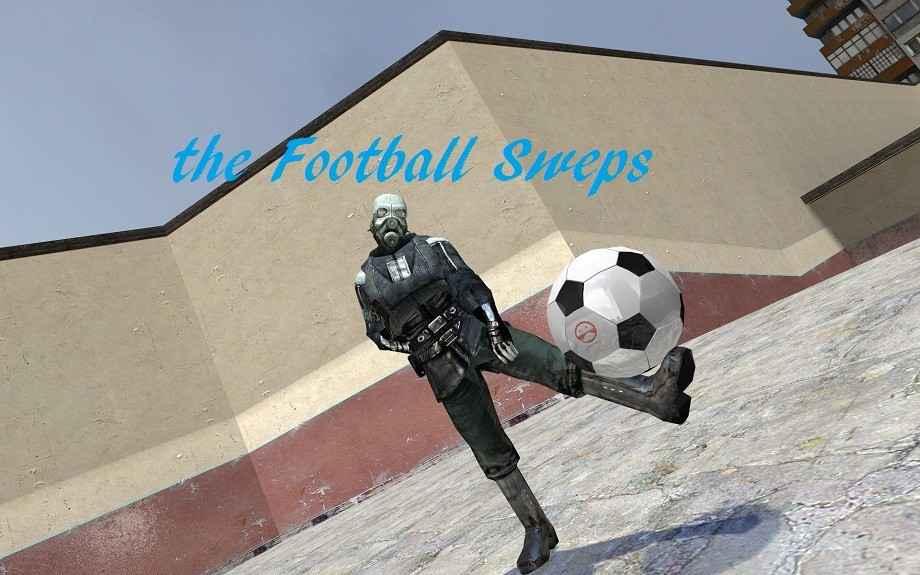 Мод Garry's Mod 13 — Футбольный мяч