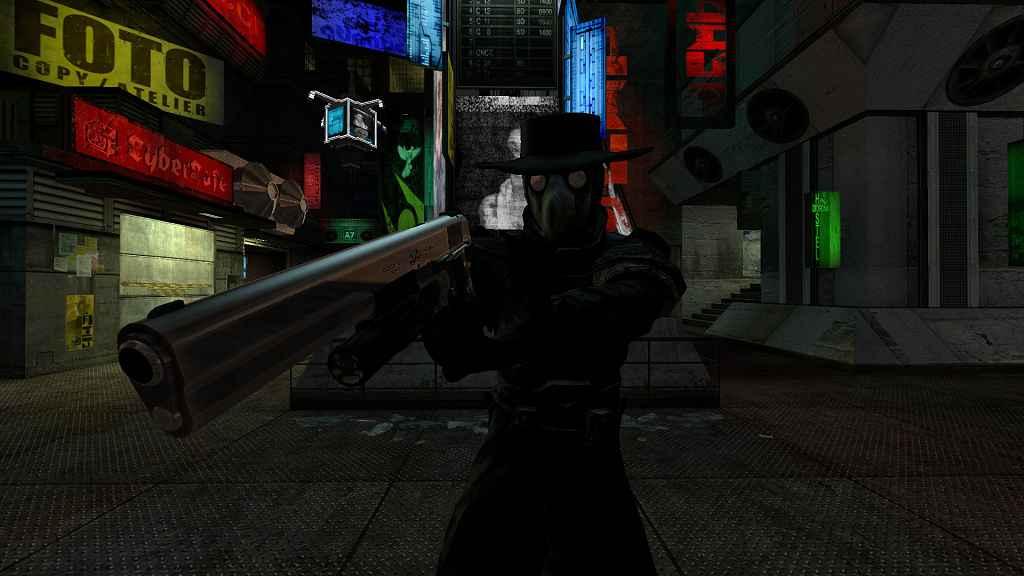 Мод Garry's Mod 13 — Модель игрока «Чумной доктор»