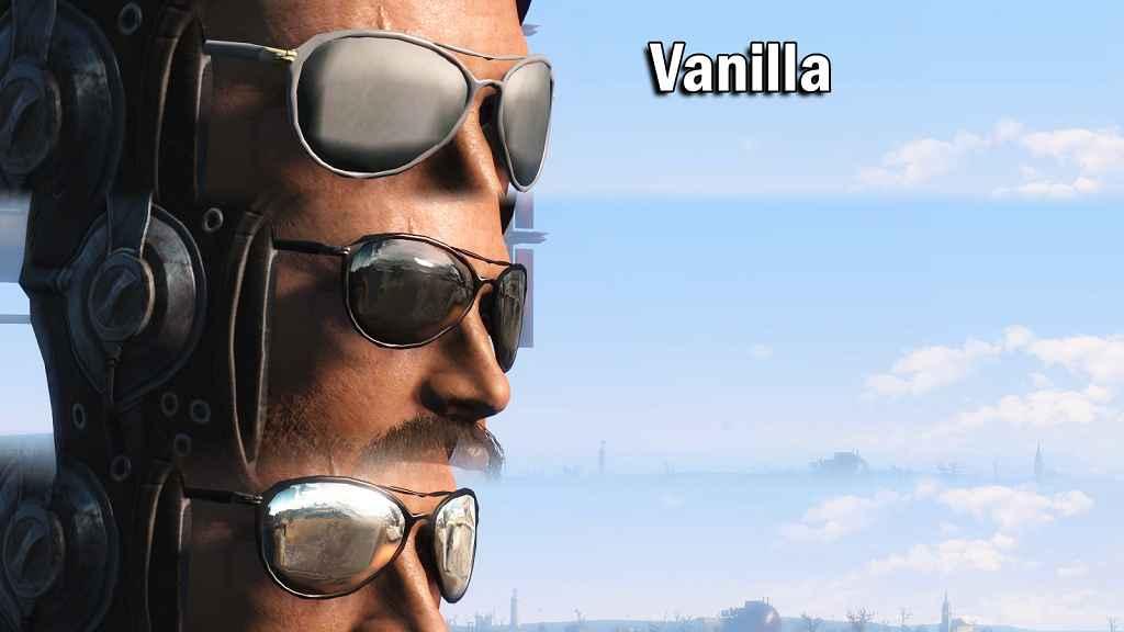 Мод Fallout 4 — Очки Патрульного. Реплейсер