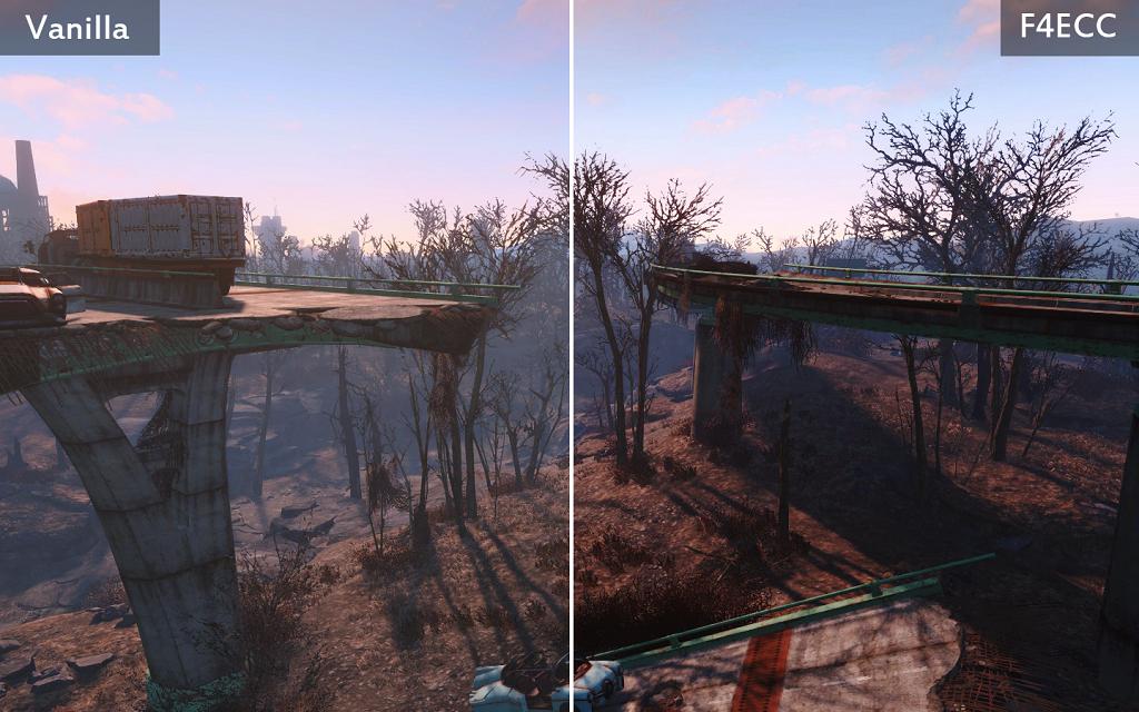 Мод Fallout 4 — Коррекция цвета